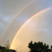 Double rainbow in Dundas