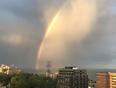 Rainbow after storm - Burlington, ON, CA