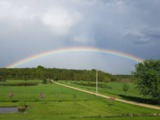 Bold rainbow - Grey County - Wodehouse, ON