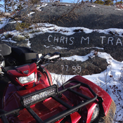 Chris M. Trail in East Chezzetcook.