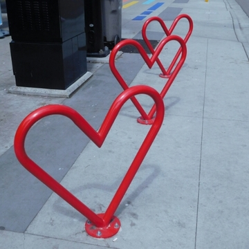 Cool new bike racks