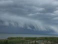 Storm rolling in ! - Wasaga Beach, ON, CA