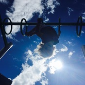 Sunshine Shining, playground playing