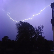 Lightening caught