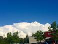 Clouds rolling in  - Winnipeg, MB, CA