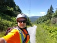 Commuting on the Trail - Powerline Trail, Port Moody, BC V3H 1J2,