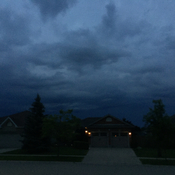 Dark skies in Strathroy Ontario