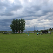 Soccer night in Dryden