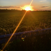 Sunset at 6 conn NOTL