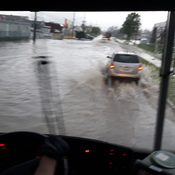 """ Flood on Townline in Orangeville """