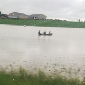 Boating in the field