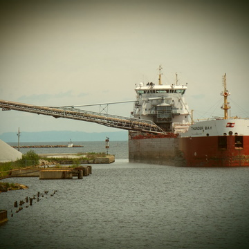 freighter THUNDER BAY in thunder bay