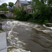 Grand River in Fergus