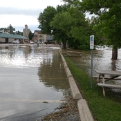 Flooding in St Jacobs