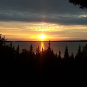 another beautiful sunset on Callander bay