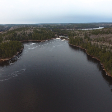 Otter Rapids from my drone