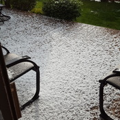 Thunderstorm with hail