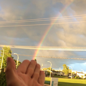 Wow l'arc en ciel