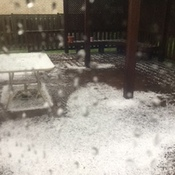 Hail in London, Ontario