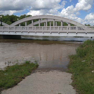 Grand River at Bridge St. Kitchener