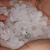 Hail storm London, On.