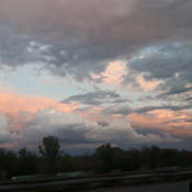 sky outside of hamilton yeaterday