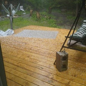 Hail in tiny