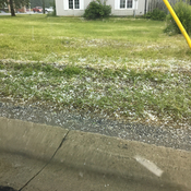Hail at the intersection