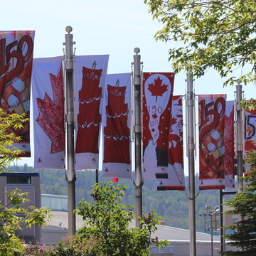 Canada 🇨🇦 150th Flags