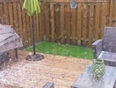 Hail and thunderstorms in Grimsby this afternoon - Grimsby, ON