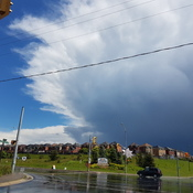 Crazy weather in Orangeville, ON