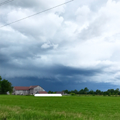 Shelf Cloud Kirkfield Storm