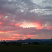 Sunset in Abbotsford