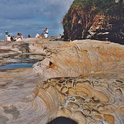 Spectacular Fossilized Rocks and Dangerous Rock Pools