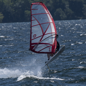 Wind Surfers on the Kingston Waterfront