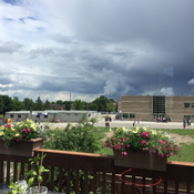 Clouds rolling in Barrie