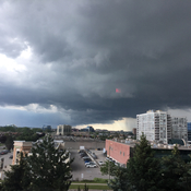 Storm clouds over Markham