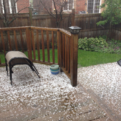 Hailing in Brooklin