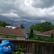 Skies over St Catharines