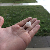 Hail today