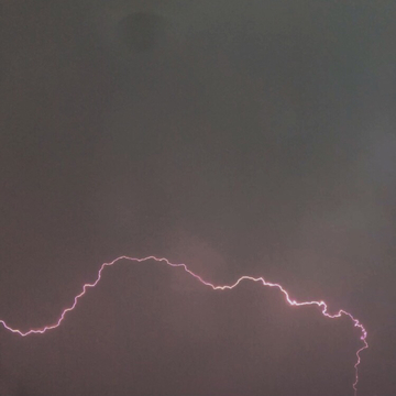 Lightning Bolt Across the Sky