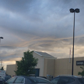 Weird clouds in Oshawa.
