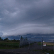 Wall Cloud at Kingston Airport