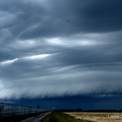SHELF CLOUD AT KINGSTON AIRPORT