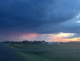 Sunset storm - Townsend, ON, CA