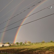 double rainbow in virgil