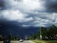 angry clouds on Kalar Rd - Niagara Falls, ON