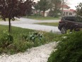 Hail in Fort Erie, Ontario  - Fort Erie, ON | L2A 2Z4