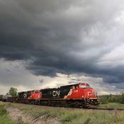 Black Clouds Over Train 531