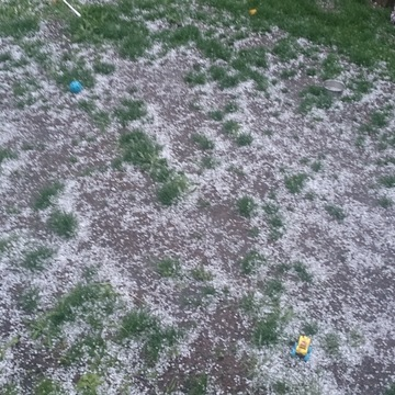 30 seconds into 10 mins of hail